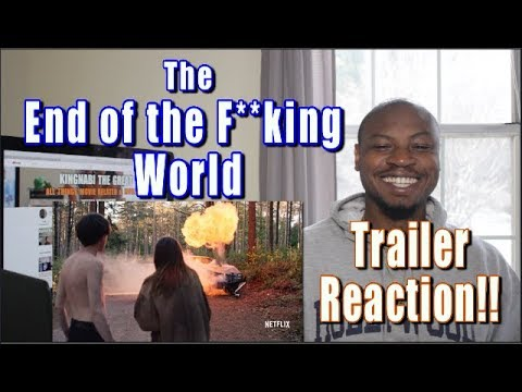 The End of the F**king World  REACTION  Netflix Series Alex Lawther