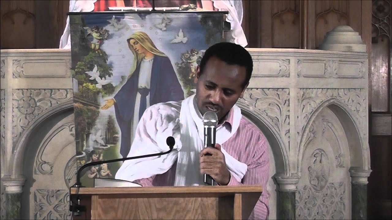 NEW ERITREAN ORTHODOX TEWAHDO SBKET BY  Dyaqon Asmelash IN CARDIFF PART 5