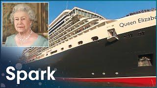 Building the Queen Elizabeth  - Part 2 (Ship Building Documentary) | Spark