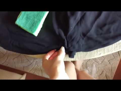 Как вывести сосновую смолу с одежды в домашних условиях