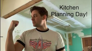 The Potters House Part 7, Kitchy Kitchen Planning. A 'new' antique kitchen.