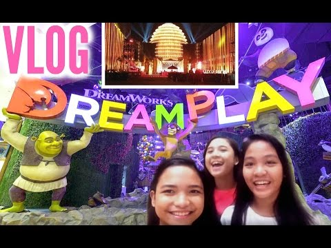 VLOG: Playing with Friends |  Dream Play at City of Dreams Manila