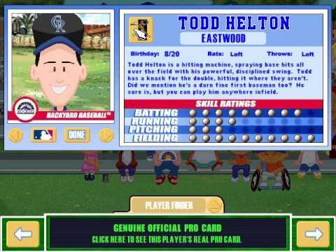 Let's Play Backyard Baseball 2003 -- Meet the Pros Part 1