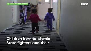 Left behind - Islamic State fighters children are abandoned in Syria