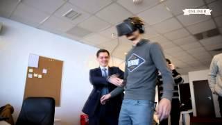 Реакция людей на шлем виртуальной реальности(, 2014-01-21T04:25:14.000Z)