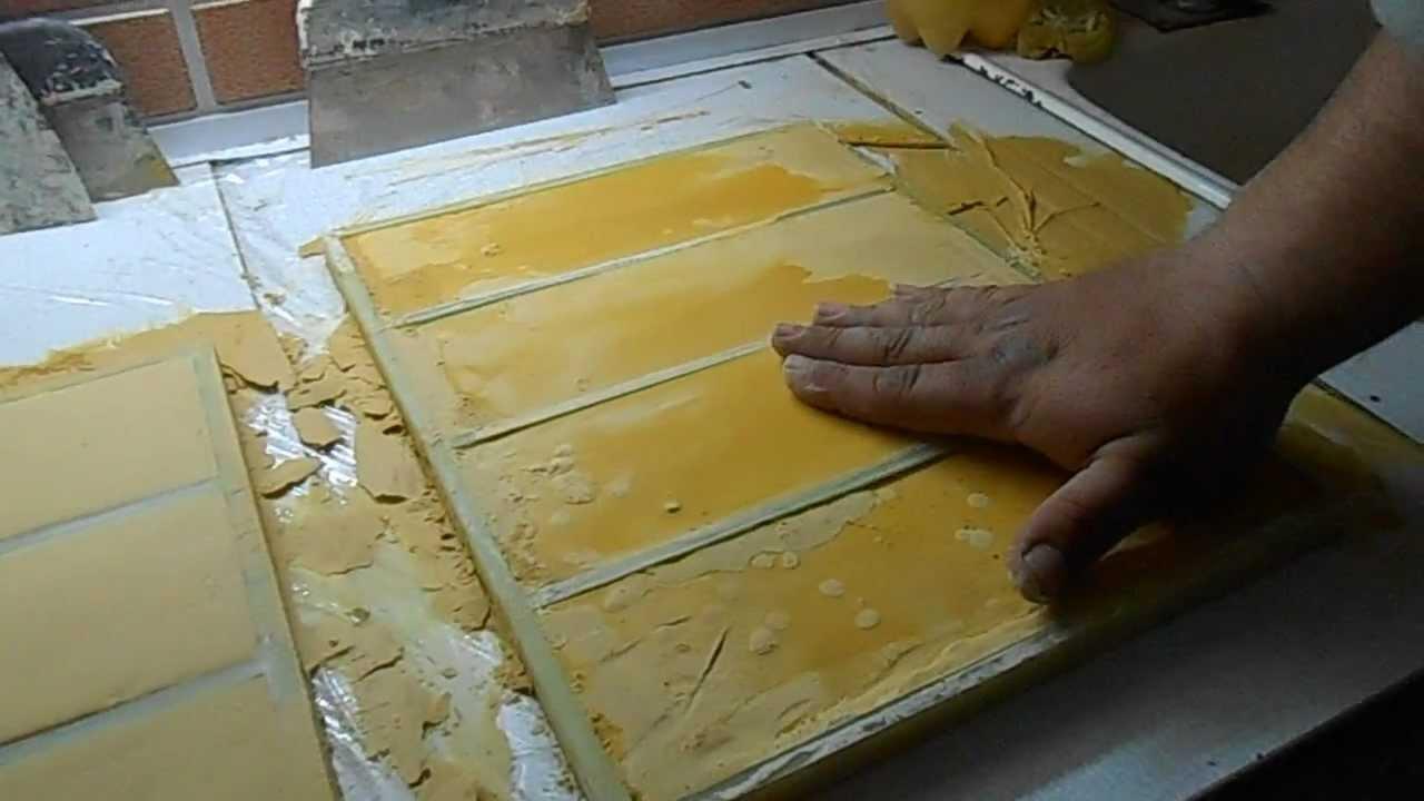 Плитка из гипса своими руками изготовление 286
