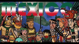 History of ancient Mexico, Mesoamerica Toltec, Maya, Aztec, Olmec, Zapotec history