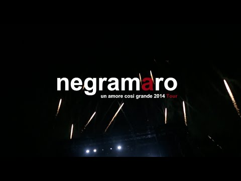 "negramaro - ""Un amore così grande 2014 tour"" - Grazie a tutti!"