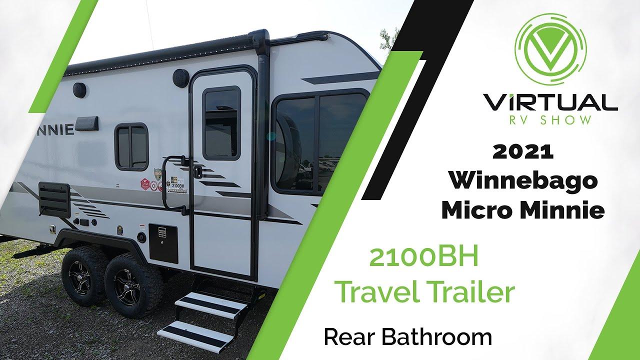 2021 Winnebago Micro Minnie 2100BH Travel Trailer Walk-Through