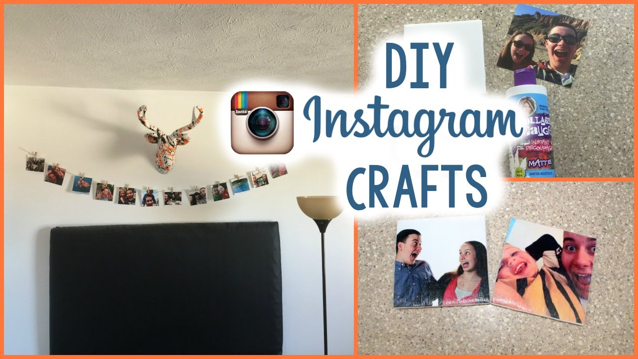 DIY Instagram Crafts