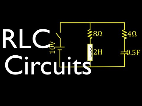 RLC Circuit Analysis (3 Of 8) Voltage, Current, Charge