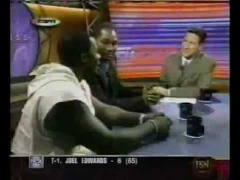 Lennox Lewis vs Hasim Rahman ESPN brawl.