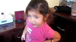 3 yr old Nadine -Taylor Swift You Belong With Me