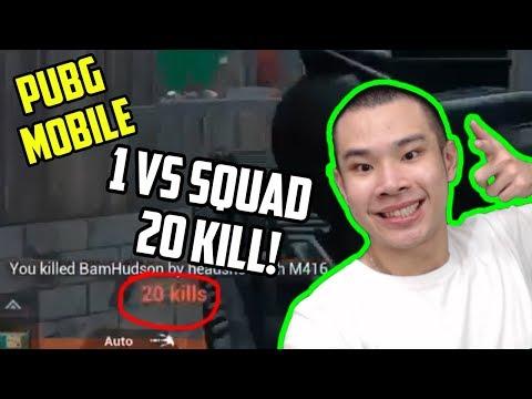 JESS NO LIMIT VS SQUAD? DAPET 20 KILL! - PUBG MOBILE