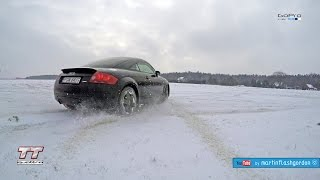 Audi TT quattro MK I 225 HP snow test