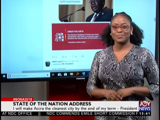 State of the Nation Address - JoyNews Interactive (21-2-19)