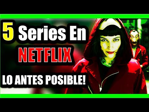 5 Best Series On Netflix MUST SEE AS SOON AS POSSIBLE | With Trailers | 5mplicación