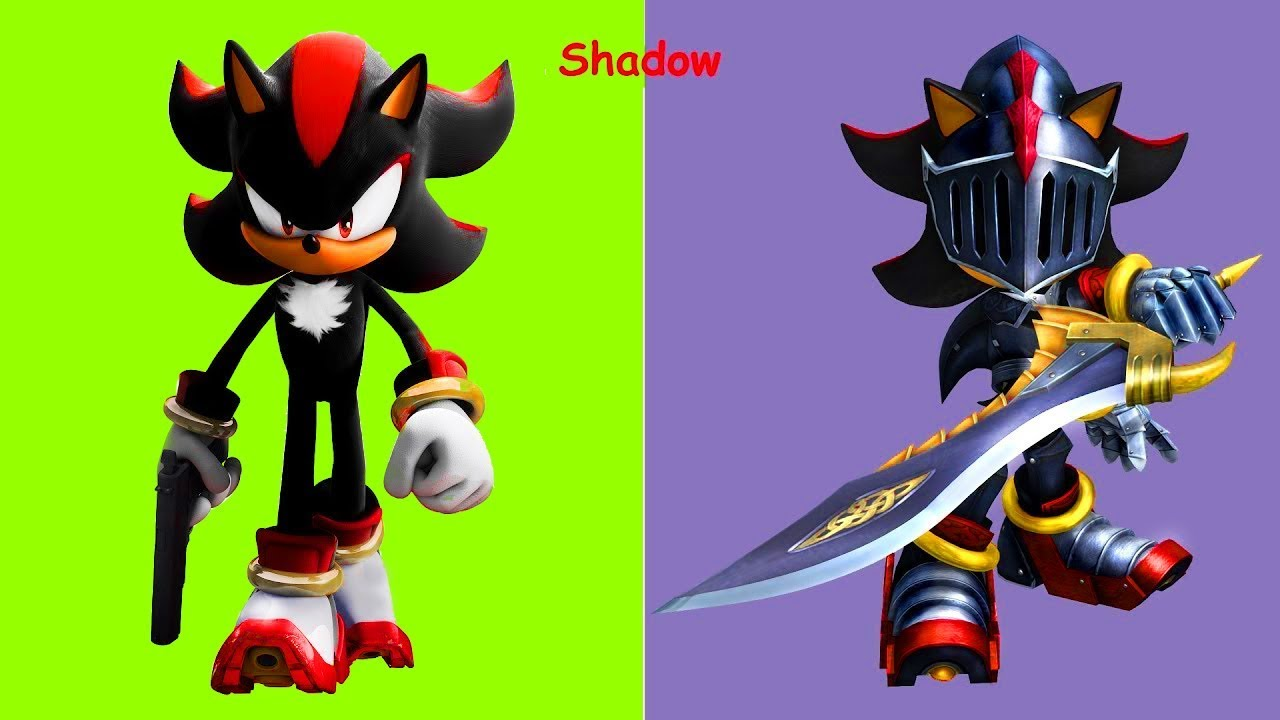 Sonic Boom Characters As Warrior 2018