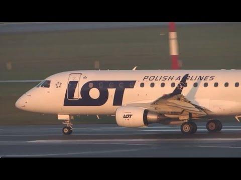 Plane Spotting at Hamburg Airport 2014-11-08