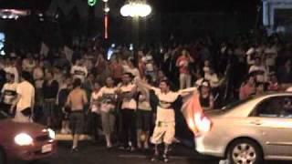 universidad Católica campeón - celebración plaza Italia 2010