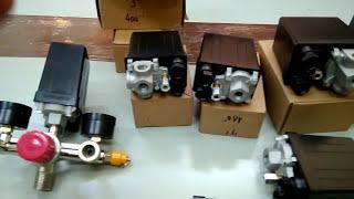 Avtomatlashtirish va bosim (bosim differensial o'tish) bu kompressor uchun o'tish