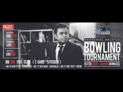 Rahmaniac Malaysia Bowling Tournament 2018