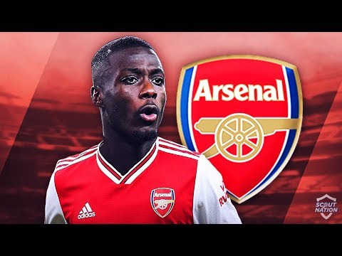 NICOLAS PEPE - Welcome to Arsenal - Insane Speed, Skills, Goals & Assists - 2019 (HD)