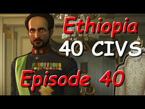 Civ5 as Ethiopia - City Sell Off - Episode 40
