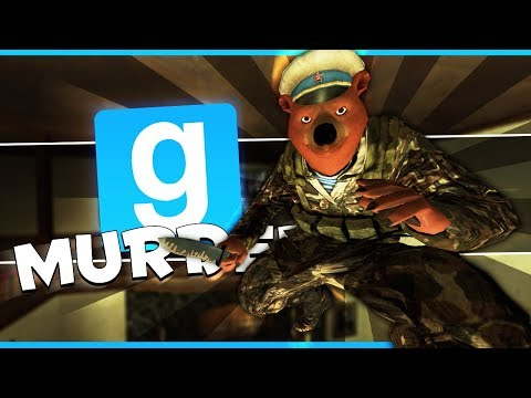 I SAW HIS KNIFE OUT!!! (Gmod Murder Funny Moments)