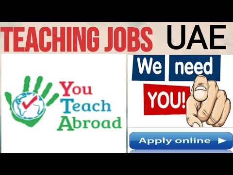 #Overcome How To Get Teaching Jobs In Abu Dhabi,UAE