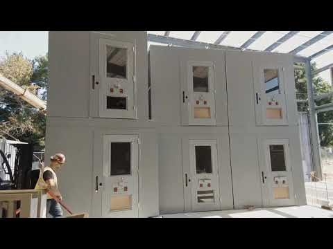 Greene County Jail Pod Installation