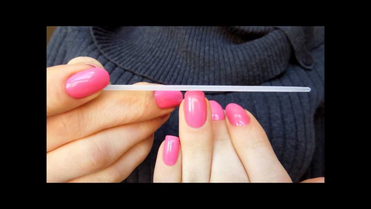 Shape your nails into a SQUOVAL ... - YouTube