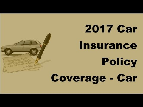 2017 Car Insurance Policy Coverage | Can High Risk Drivers Get Cheap Auto Insurance