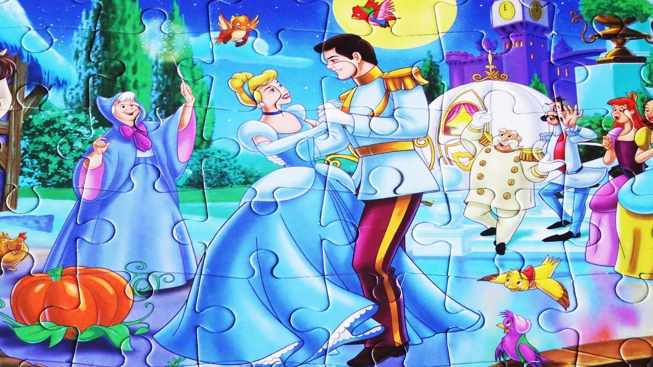 Uncategorized Cinderella Puzzle Games cinderella disney princess rompecabeza jigsaw puzzle games cendrillon puzzles for kids toys