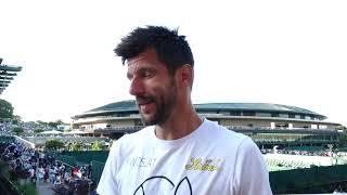 Wimbledon 2019.   Jirgen Melcer o