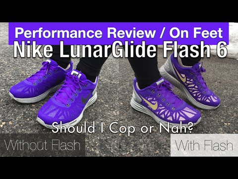 finest selection 5599f 4d02d Womens Nike LunarGlide Flash 6 Performance Review + On Feet