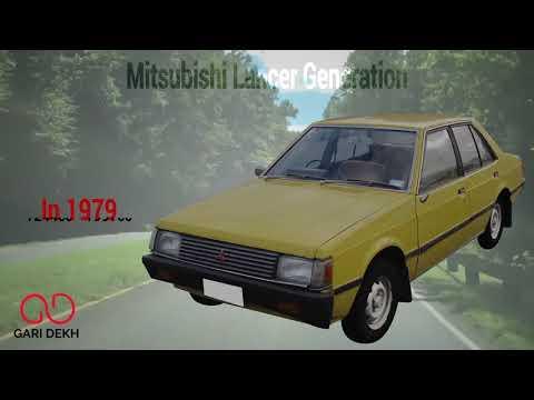 Mitsubishi Lancer Generation | Garidekh's Videos