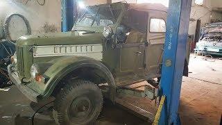 Т.О. ГАЗ-69 практически завершили