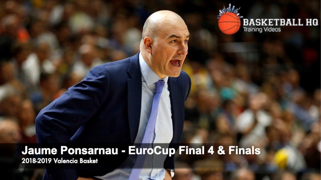 Best Sets & Actions EuroCup Final 4 Jaume Ponsarnau Valencia