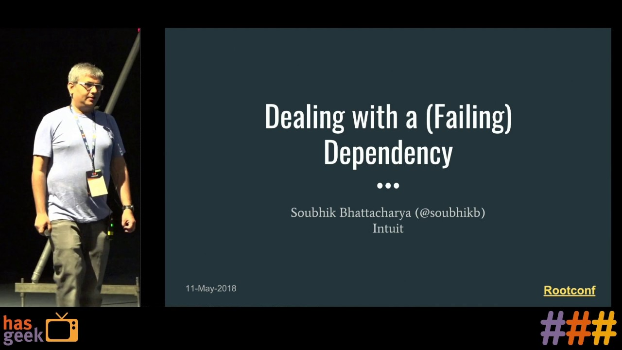 Dealing with a (failing) dependency by Soubhik Bhattacharya