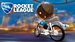 We added motorcycles to Rocket League