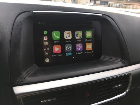 2016 Mazda CX-5 Apple CarPlay Retrofit Self Install DIY (with Firmware Upgrade tip)