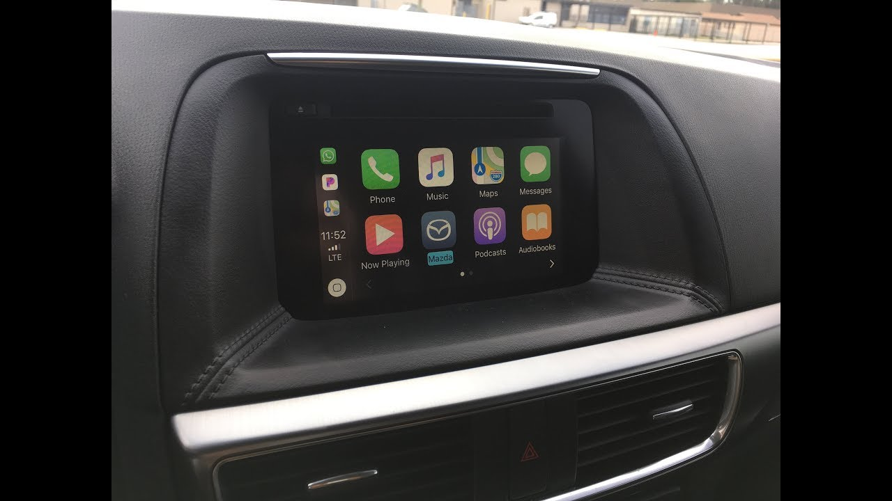 mazda apple carplay 破解