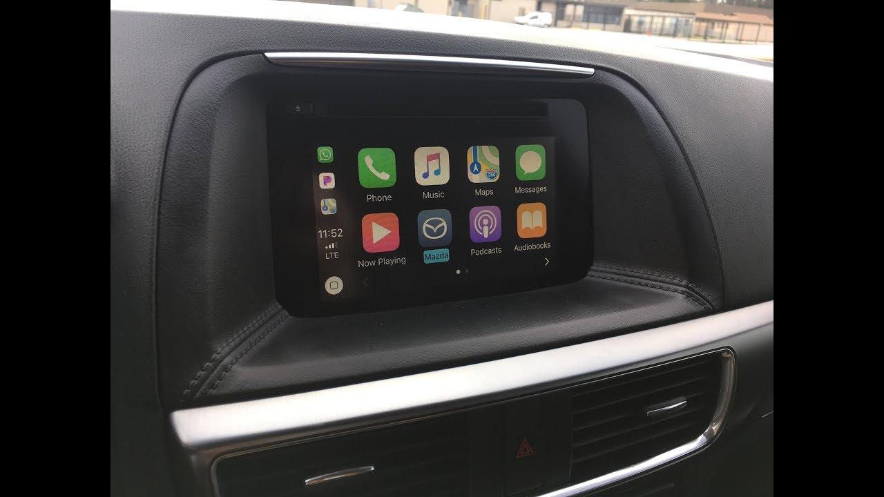 2016 mazda cx 5 apple carplay retrofit self install diy with firmware upgrade tip youtube. Black Bedroom Furniture Sets. Home Design Ideas