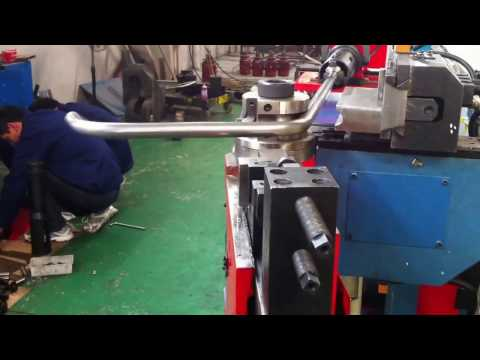 50CNC Tube Bender for vehicle frame