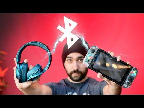 Bluetooth Headphones for Nintendo Switch