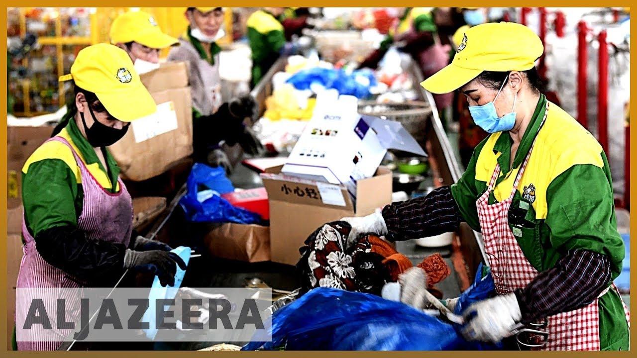 AlJazeera English:Shanghai imposes strict new recycling rules