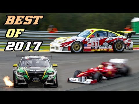 BEST OF 2017 - Motorsport sounds (LP670 GT1, 991 RSR, 360 cs, DTM, F1, Rally, ...)