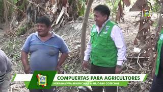 MUNICIPIO DE SANTA MARÍA DOTA DE COMPUERTAS A HOMBRES DEL CAMPO