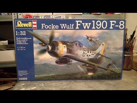 Kit review: Revell Focke Wulf Fw 190 F-8 in 1/32 scale